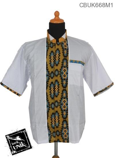 Koko Batik Terbaru  Katun Motif Sulam Ulet