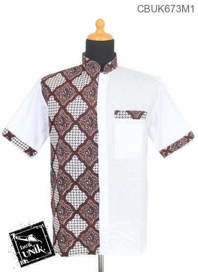 Koko Batik Terbaru  Katun Motif Tampal Kanoman