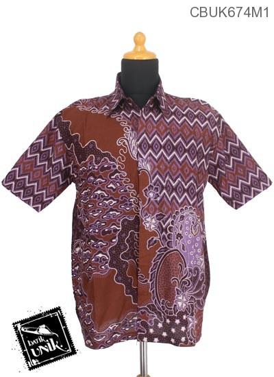 Baju Batik Terbaru  Kemeja Motif Wadas Tanjung