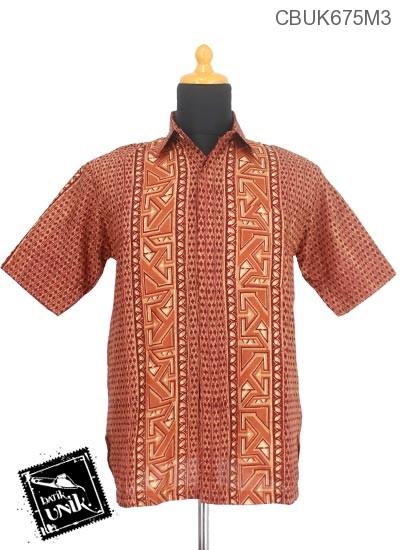 Baju Batik Kemeja Motif Banji Riti