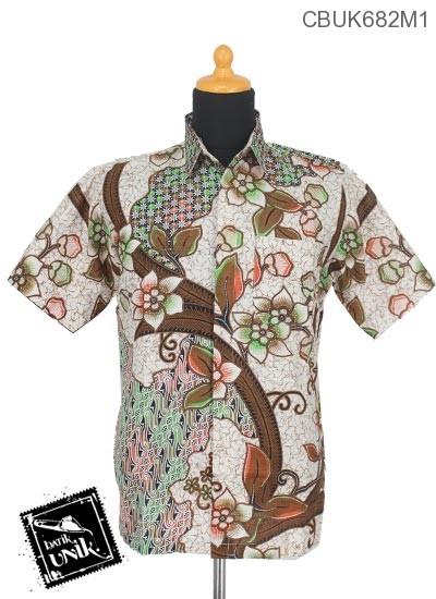 Baju Batik Terbaru  Kemeja Motif Parang Truntum Warna
