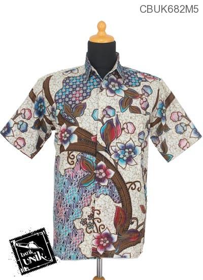 Baju Batik Kemeja Motif Parang Truntum Warna