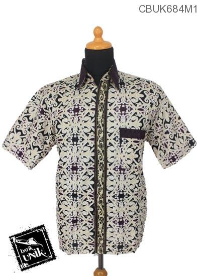 Kemeja Batik Terbaru  Katun Motif Asmad Jengking
