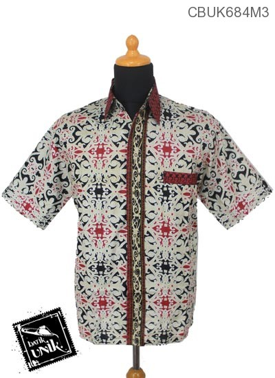 Kemeja Batik Katun Motif Asmad Jengking