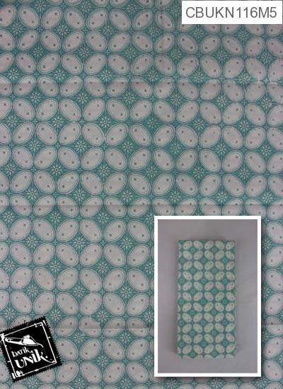 Kain Batik Printing Motif Kawung Beton