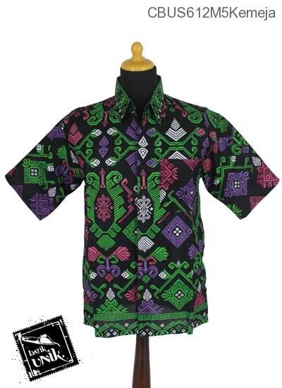 Baju Batik Sarimbit Kemeja Motif Kalimatan