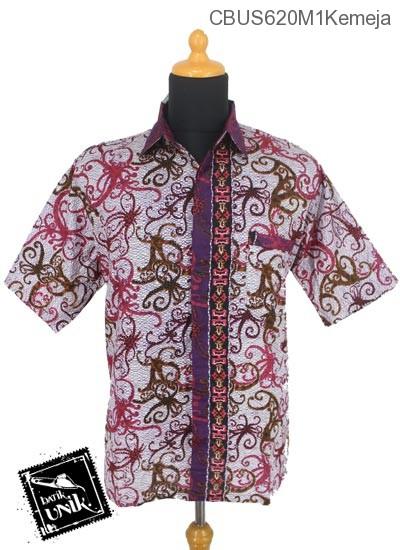 Baju Batik Terbaru  Sarimbit Blus Katun Motif Cumi Cumi Tumpal