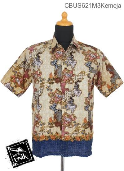 Baju Batik Sarimbit Kemeja Motif Jagad Cumi Tumpal