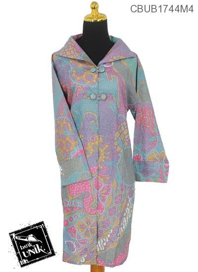 Blus Tunik Panjang Motif Pembibitan Soft