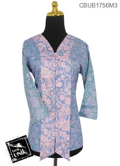 Blus Batik Tanggung Motif Unter-Unter