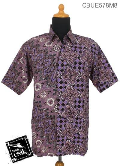 Baju Batik Kemeja Ekslusive Pekalongan Motif Liris Jagatan