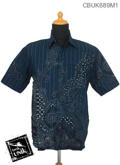 Kemeja Batik Terbaru  Motif Regolan Jagad