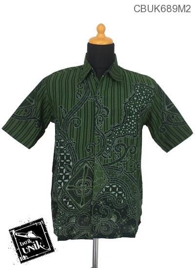 Kemeja Batik Motif Regolan Jagad