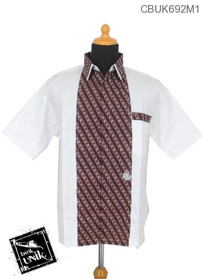 Kemeja Batik Katun Motif Parang Es Isi