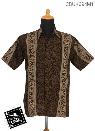 Kemeja Batik Terbaru  Motif Mego Songket