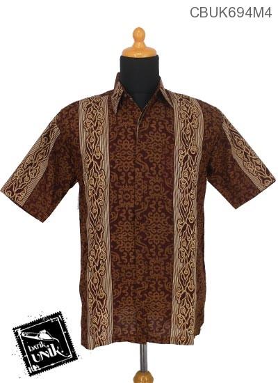 Kemeja Batik Motif Mego Songket
