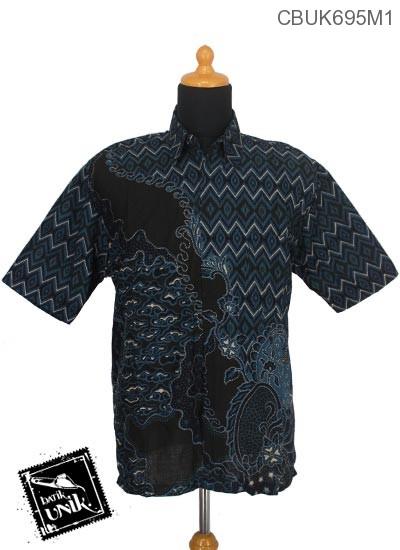 Kemeja Batik Terbaru  Katun Motif Mego Wajik