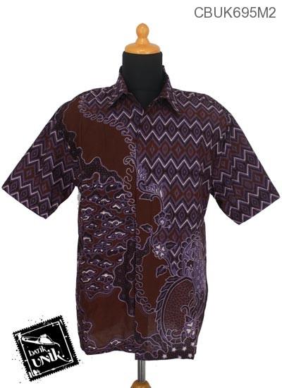 Kemeja Batik Katun Motif Mego Wajik