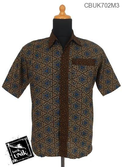 Kemeja Batik Pekalongan Motif Capucino