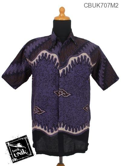 Baju Batik Kemeja Motif Parang Geni Mega Mendung