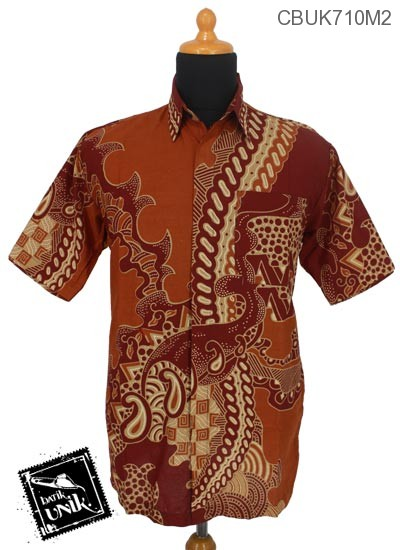 Kemeja Batik Pekalongan Motif Jagad Patih