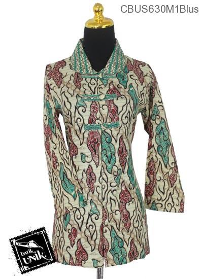 Baju Batik Terbaru  Sarimbit Blus Motif Mego Alas Parang