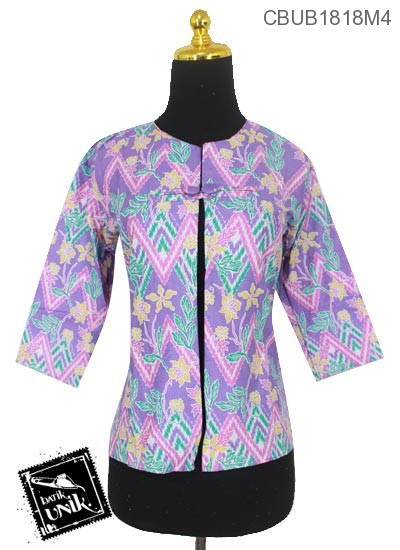Rompi Batik ABG Motif Rang Rang Kembang Warna