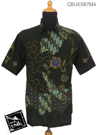 Kemeja Batik Ekslusive Motif Parang Kawung Kembang Matahari