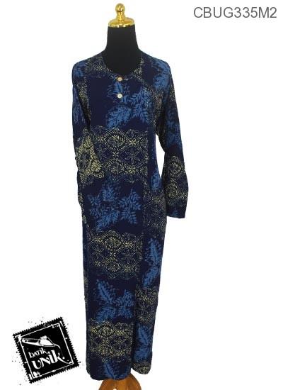 Baju Batik Longdress Jumbo Motif Godhong Asem