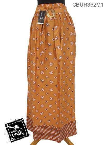 Rok Batik Pekalongan Motif Jumputan Tumpal