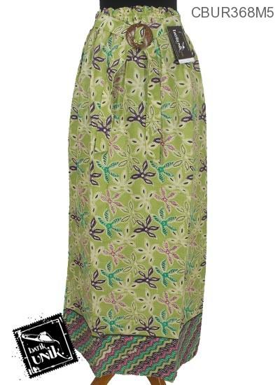 Rok Batik Motif Warna Warni Bunga