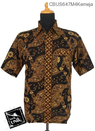 Baju Batik Sarimbit Kemeja Motif Capucino