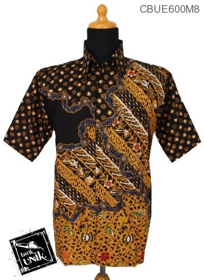 Kemeja Batik Ekslusive Motif Sogan Warna Kontemporer