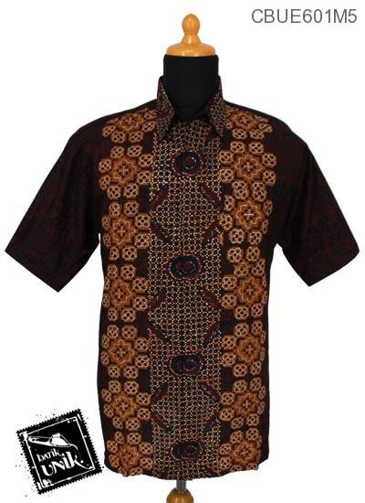 Baju Batik Kemeja Ekslusive Motif Kawung Klasik