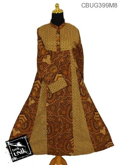 Baju Batik Gamis Motif Udan Liris