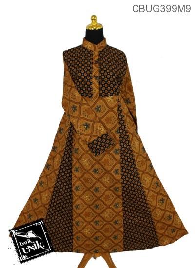 Baju Batik Gamis Motif Udan Liris Gamis Batik Murah