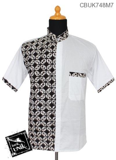 Koko Batik Katun Motif Parang Kawung