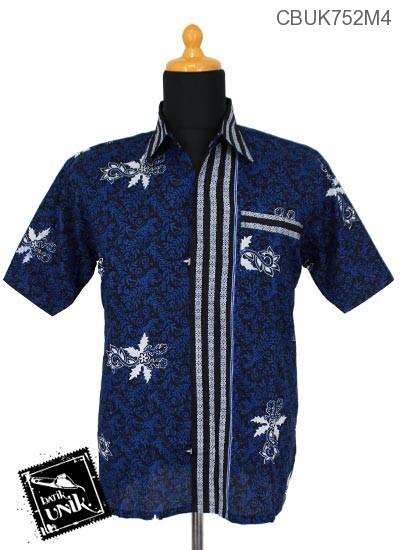 Baju Batik Kemeja Motif Godhong Teki Tumpal