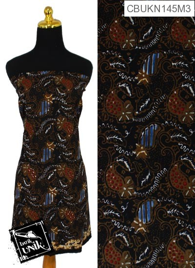 Kain Batik Cap Pekalongan Motif Batik Kawung Kontemporer