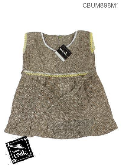 Dress Anak Romaria Motif Kotemporer