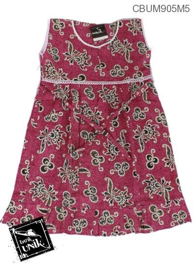 Dress Anak Manis Motif Kotemporer Warna