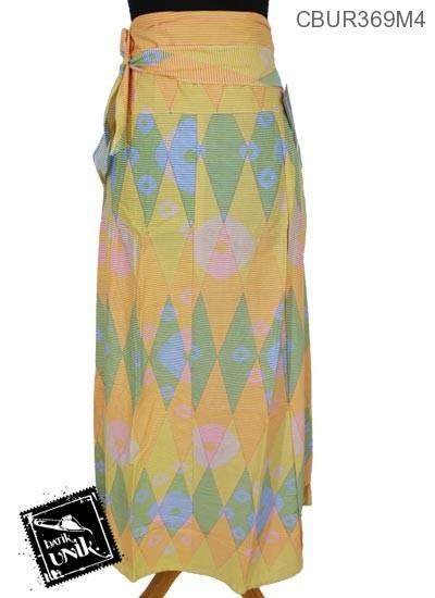 Rok Batik Motif Rang Rang Warna