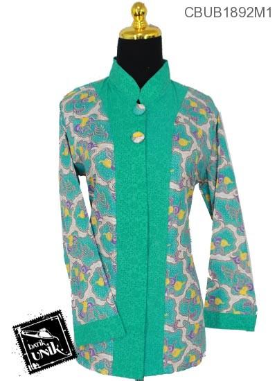 Blus Batik Terbaru  Panjang Motif Kupon Truntum