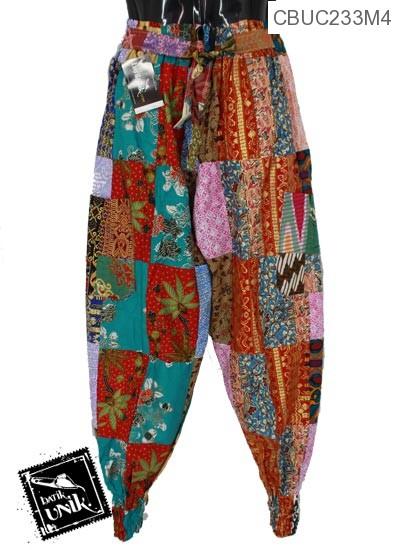 Celana Aladin Motif Perca Sewu