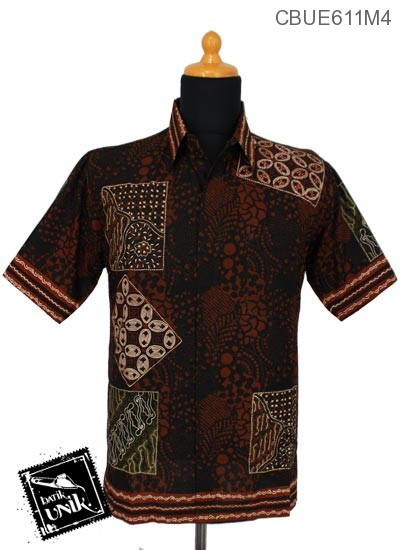 Kemeja Batik Ekslusive Motif Kotak Batik