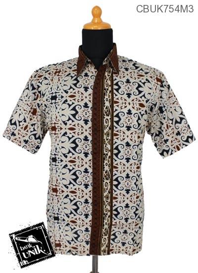 Kemeja Batik Motif Asmad Jengking