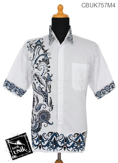 Baju Batik Kemeja Motif Godhong Ukir