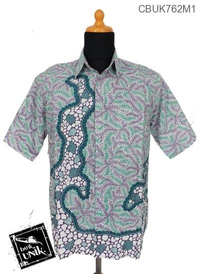 Baju Batik Terbaru  Kemeja Motif Krokot Watu