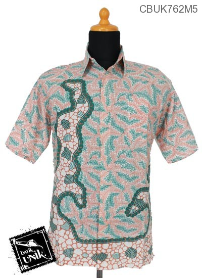Baju Batik Kemeja Motif Krokot Watu