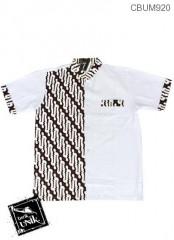 Baju Muslim Koko ( usia SD-SMP )  Motif Parang Pancing